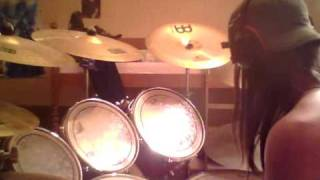 Napalm Death Mentally Murdered (drum cover)
