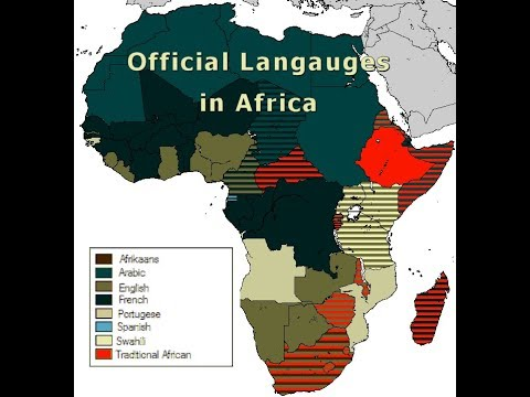 How Many African Nations' Official Language Is English?...24