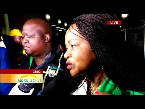Baleka Mbete endorses Cyril Ramaphosa for presidency
