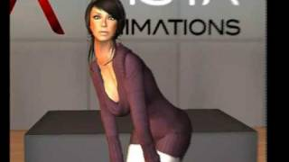 VIsta Animations MOCAP Sensual Woman AO for Second Life