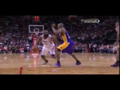 James Harden Straight Works Over Kobe Bryant