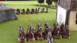 "The Hobbit Strategy Battle Game Tutorial ""A Beginners Battle Report"""