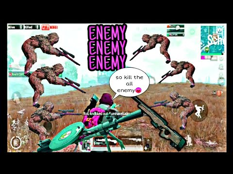 Enemy Enemy Enemy 😱😱 2 Vs 6 Situation