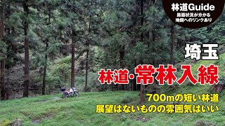 埼玉【林道・常林入線】の地図〜雰囲気のある700mの短い林道 – TRIPOO ...