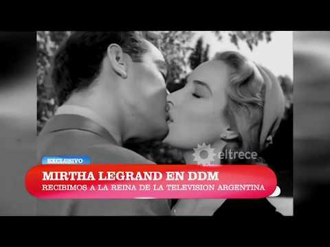 Con este clip emotivo recibieron a Mirtha Legrand en El diario de Mariana