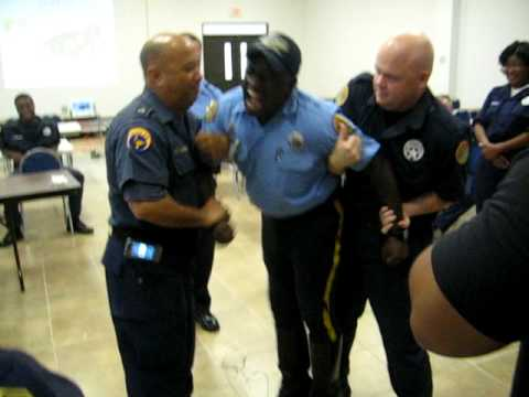 New Orleans Police Taser Training