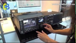 Кенвуд TS 990S / kenwood ts-990s и симпатичная девушка на выставке Ham Radio
