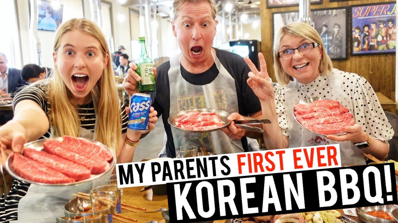 Dad fell in love with Korean BBQ