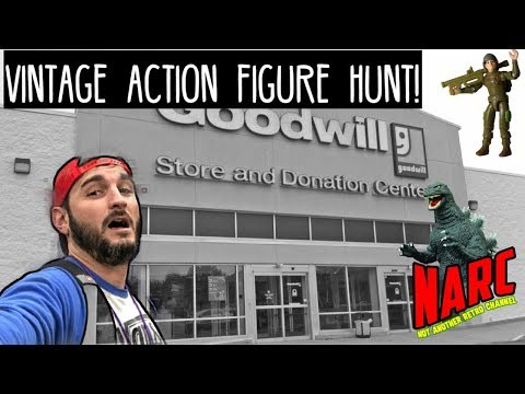 Toy Hunting VLOG: Thrift Store Action Figure & Game Hunt