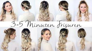 3 MINUTEN FRISUREN - unkompliziert und schnell! 10 Frisuren für den Alltag - TheBeauty2go