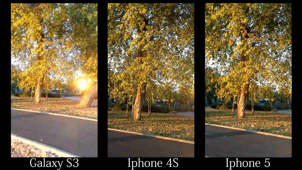 Nextlab501ro IPhone 5 Vs 4S Galaxy S3 Camera Test