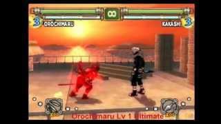 Naruto Ultimate Ninja 2 All Ultimate Jutsus Final+Bonus
