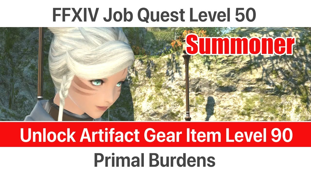 ffxiv lined up 50 summoner hunt back 5.0 update