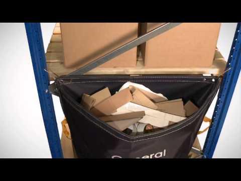 Racksack -- waste segregation sack