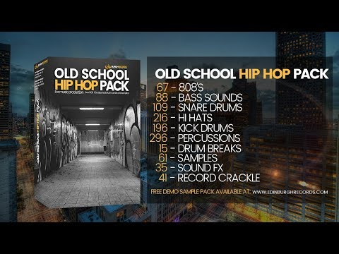 OLD SCHOOL HIP HOP SAMPLE PACK (BURGHRECORDS)