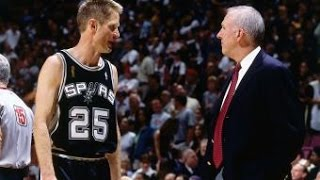 Spurs Anniversary: Steve Kerr Sparks A Run For The Spurs