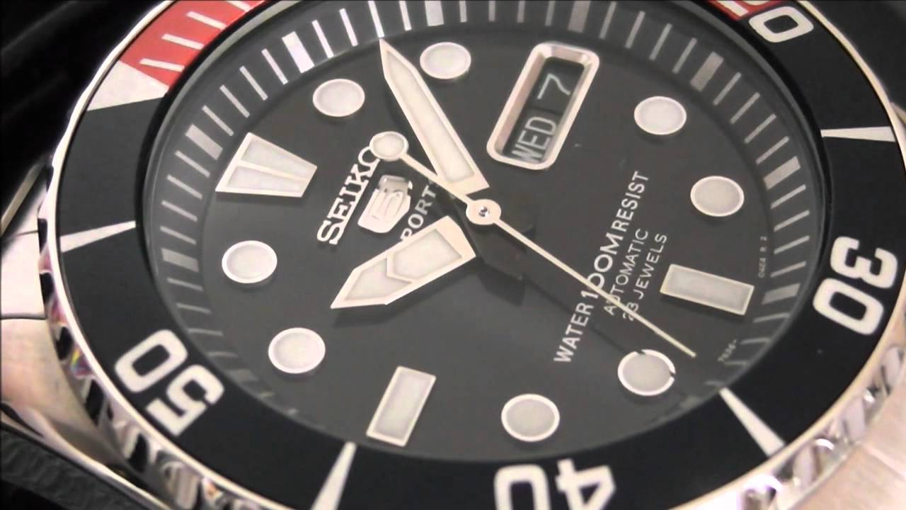 2S Time : SEIKO SNZF15K1 Automatic Divers 23 Jewels 100m Submariner Pepsi Bezel