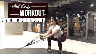 GYM WORKOUT - Full Body dari Pemanasan sampai Stretching Akhir!