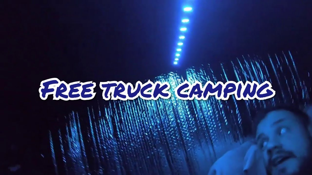 Truck Camping at Wildlife Management Area / Primitive Truck Camping
