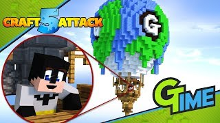 Wir bauen den GAMERSTIME BALLON! - Minecraft Craft Attack 5 #30   Gamerstime