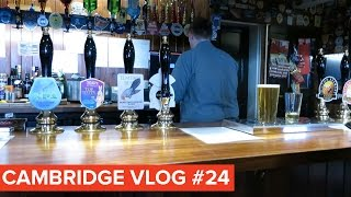 Cambridge Vlog 24 | Bitcoin Beer Before a Supervision