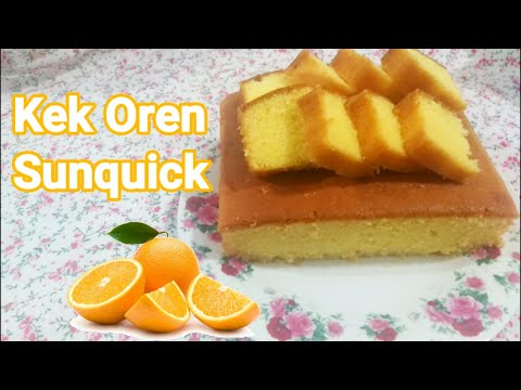 kek-oren-sunquick-|-mudah-dan-sedap-|-#athirahmasak
