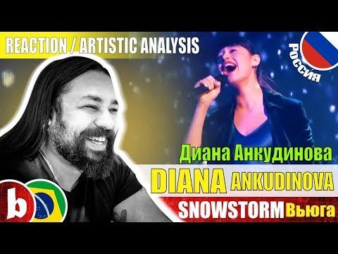 DIANA ANKUDINOVA Диана Анкудинова! Snowstorm Вьюга - Reaction Reação & Artistic Analysis (SUBS)