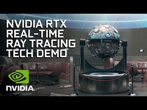 NVIDIA RTX Real-Time Ray Tracing Tech Demo From Remedy Entertainment