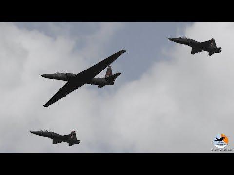 Lockheed  U-2 Dragonlady demo   Beale AFB   Air & Space Expo 2018