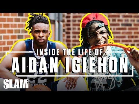 5-Star Aidan Igiehon Runs NYC as the IRISH HULK 💪🏽   SLAM Inside the Life