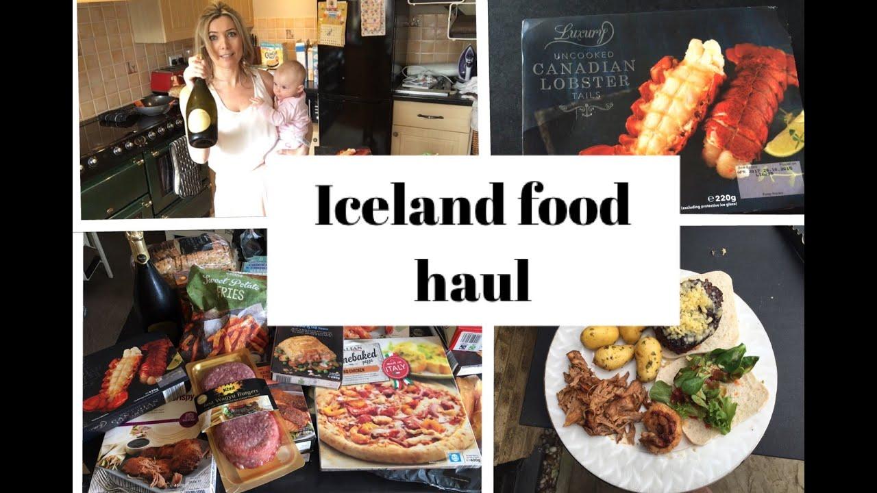 ICELAND FOOD SHOPPING HAUL - YouTube