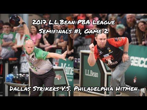 2017 PBA League Semifinals #1, Game 2 – Dallas Strikers vs Philadelphia Hitmen