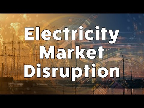 Electricity Market Disruption : Or how Utilities must stop worrying and come to love the change