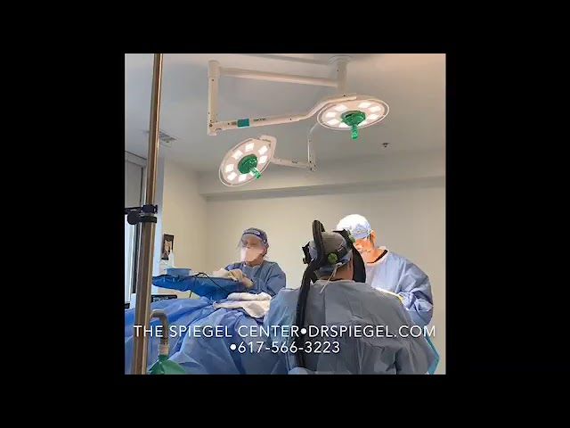 In The Operating Room With Dr. Spiegel- preforming facial feminization surgery