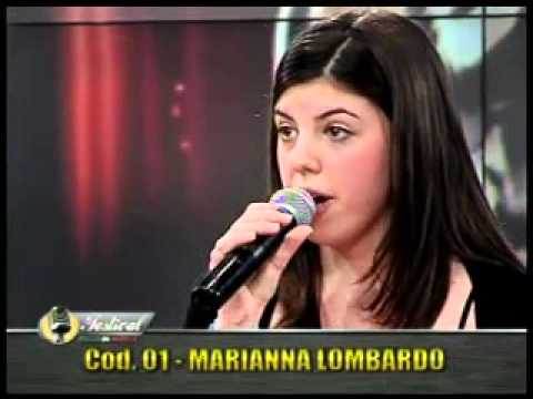 Marianna Lombardo ' amore unico amore' al New Talent del Fest. It. in Musica