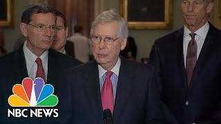 Mitch McConnell Defends Donald Trump: 'The President Is Not A Racist' | NBC News