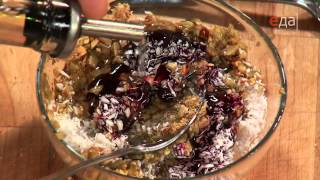 Тартар из тунца в лаймовом сиропе