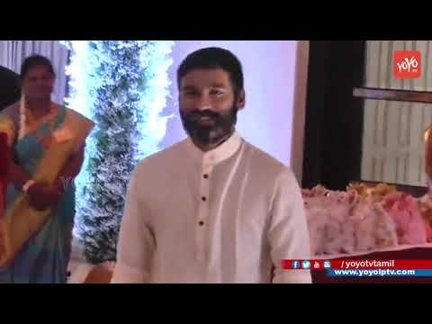 Dhanush & Anirudh at Soundarya Rajinikanth Wedding | Vishagan Vanangamudi | Marriage Video | YOYOTV
