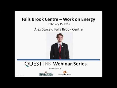 Falls Brook Centre – Work on Energy