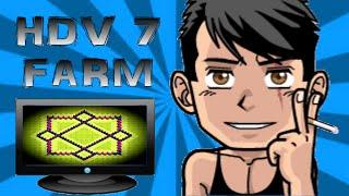 Clash of Clans - Village HDV 7 Farming Design - Speed Build