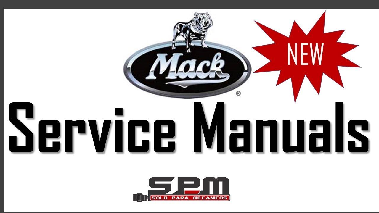 Mack Truck Service Workshop Manuals on