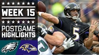 Eagles vs. Ravens | NFL Week 15 Game Highlights