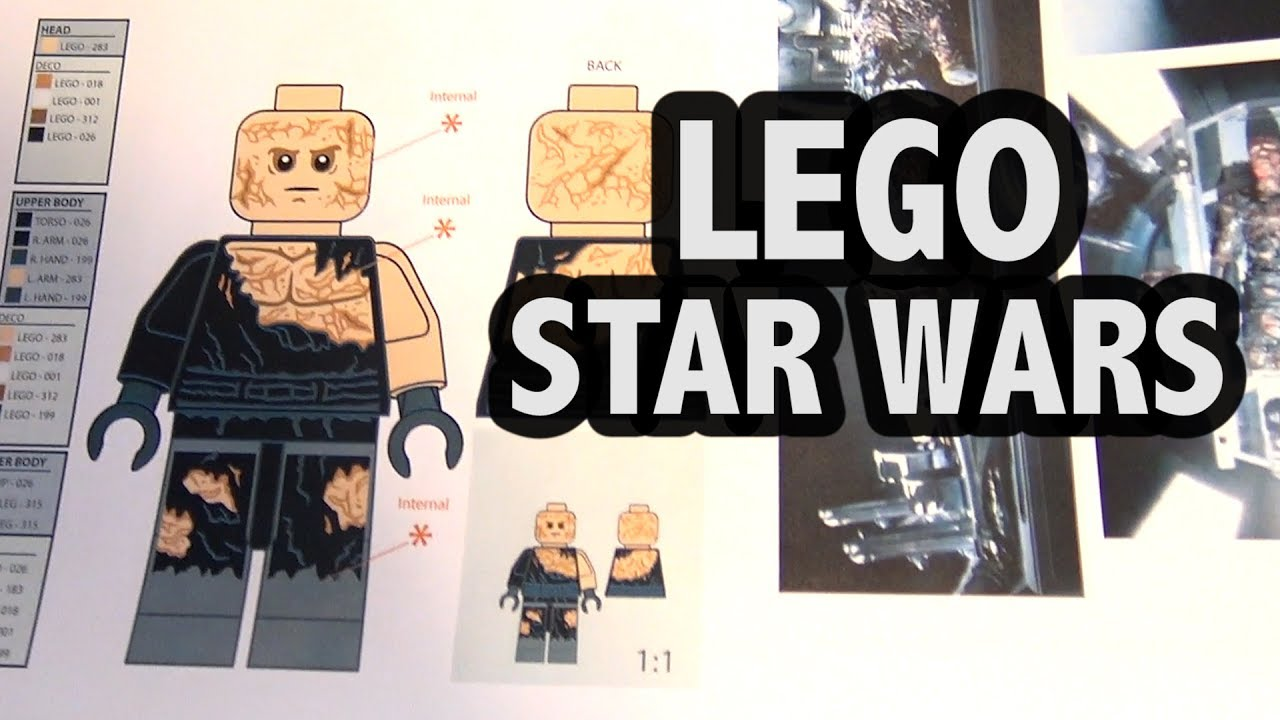 How Lego Star Wars Sets Are Designed Youtube