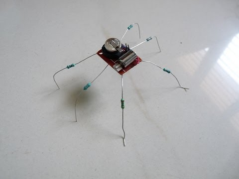 How to make a Toy Insect Robot