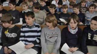 Dresdner Kreuzchor - Wachet auf, ruft uns die Stimme (Hugo Distler)