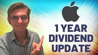 Apple Stock 1 Year Dividend History - Robinhood Portfolio Update