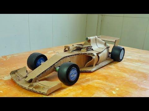 Cardboard f1 car kit