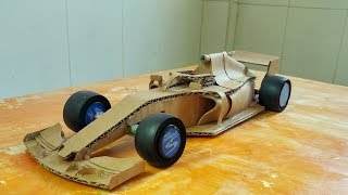 how to make Amazing Formula 1 from Cardboard