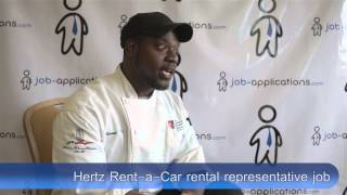 Hertz Interview - Rental Representative