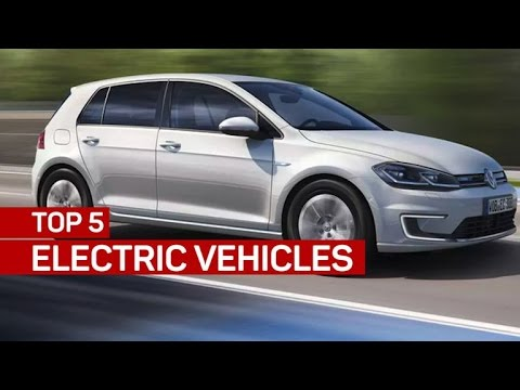 Top 5 electric vehicles